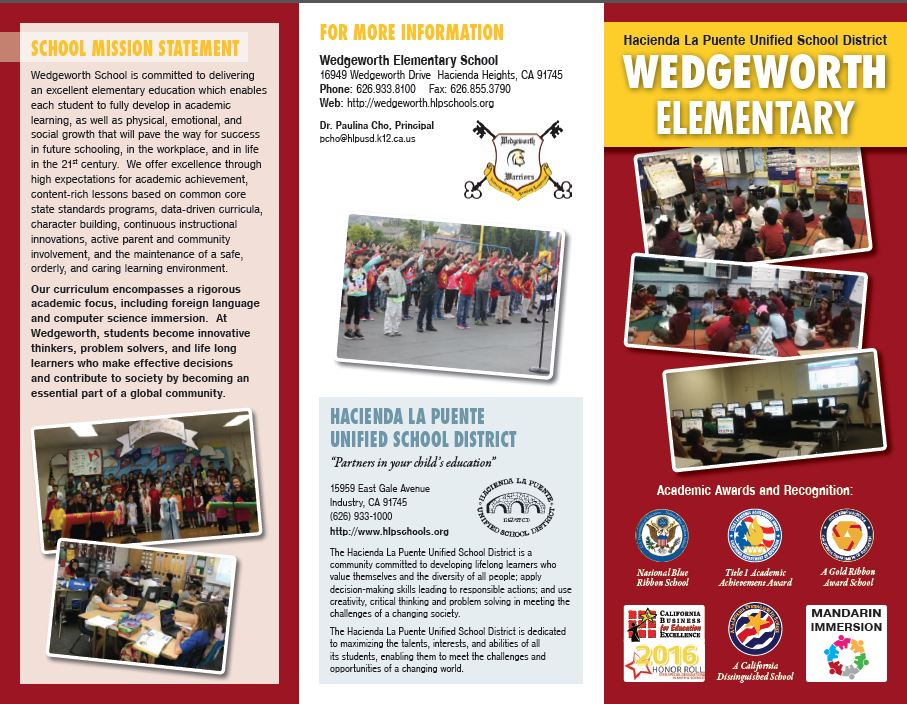 Wedgeworth Brochure