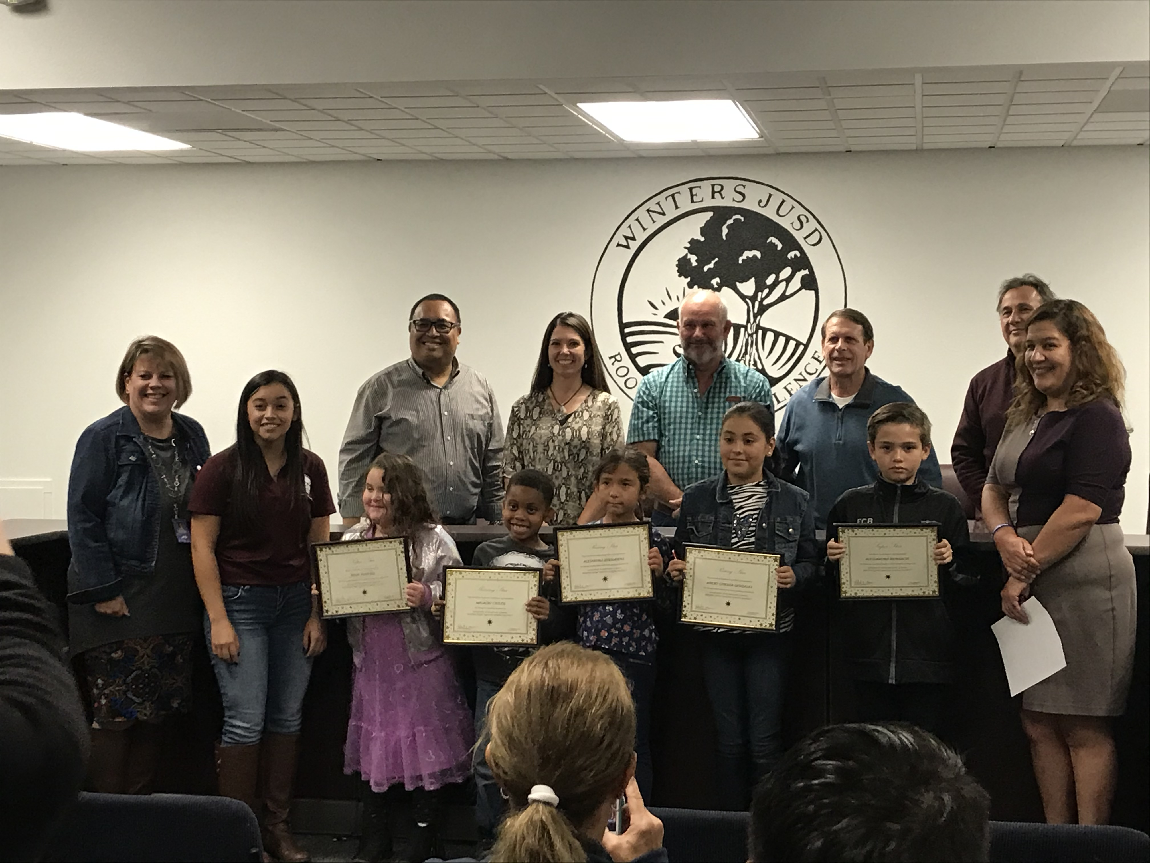 A celebration of Stars at the Board Meeting