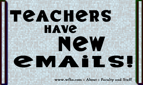 new emails