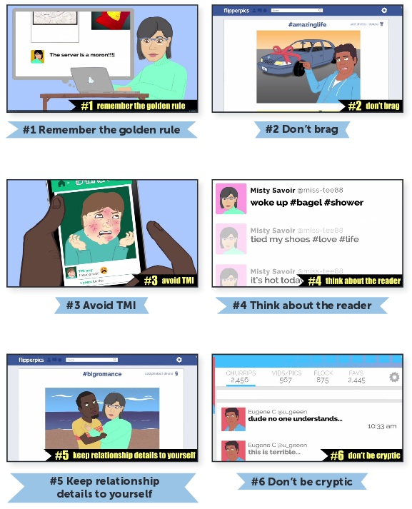 rules for social media usage