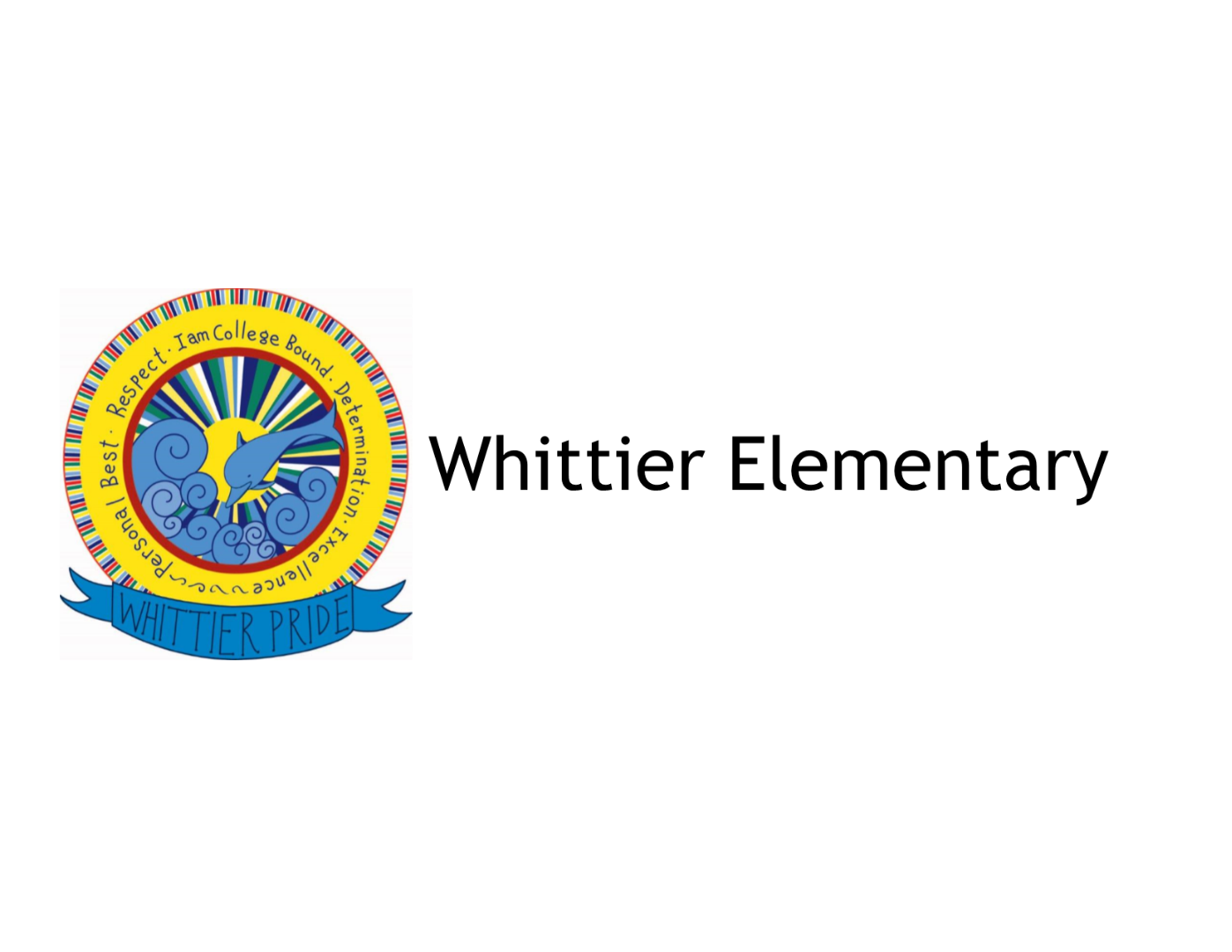 Whittier Elementary School Logo