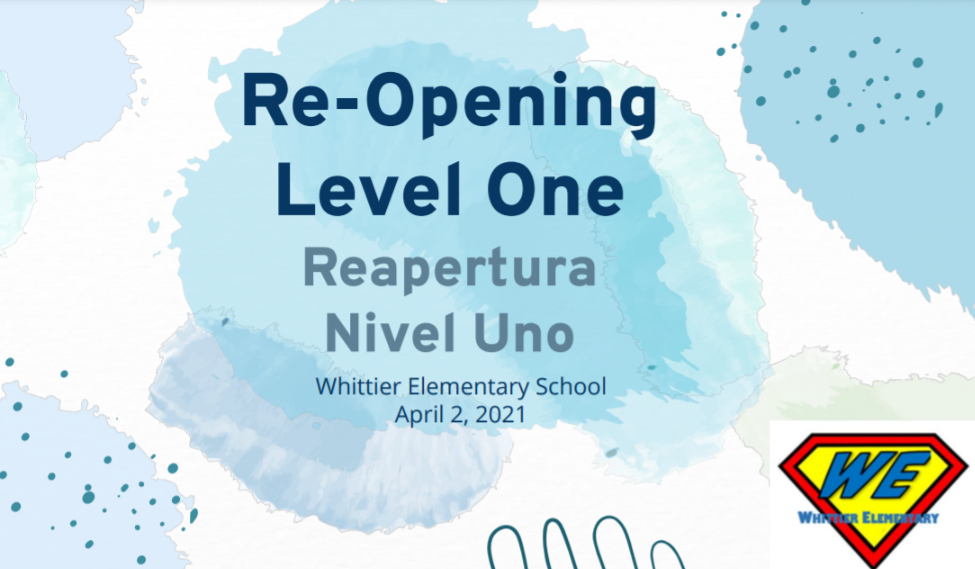 reopening level one`