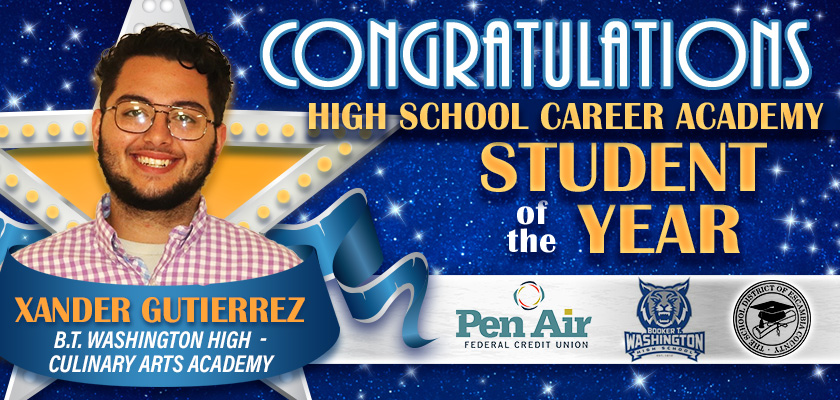 Student of the year Career Academy