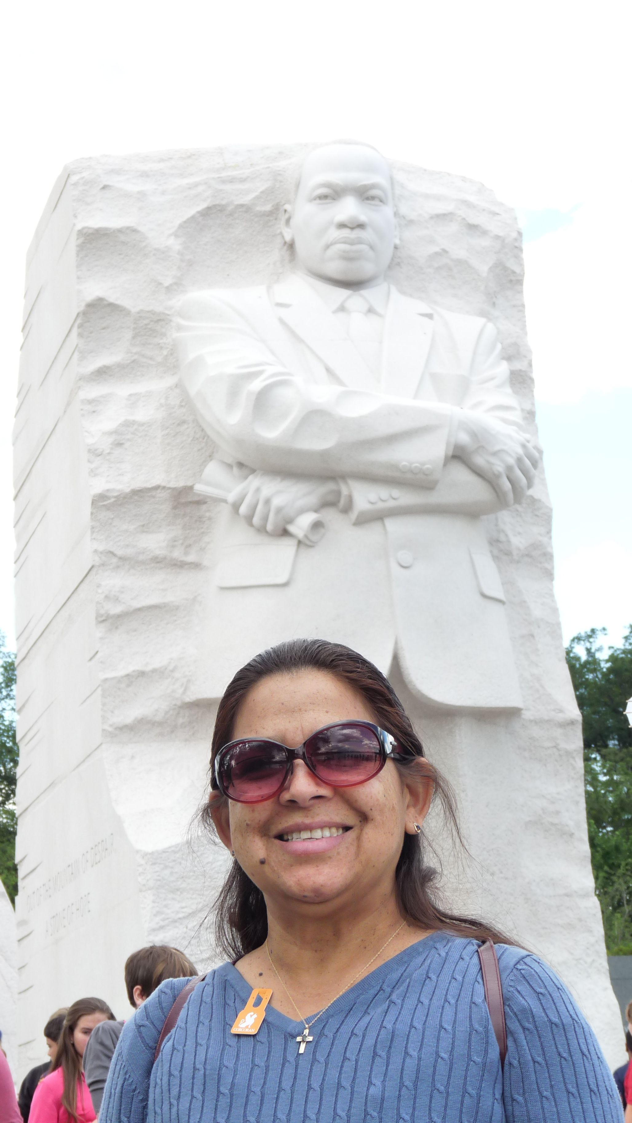 In Washington DC/Dr. MLK Monument