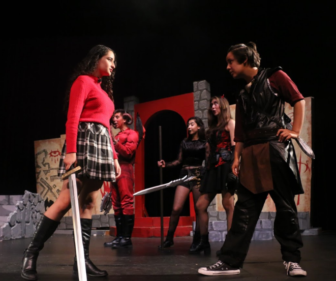 photos of the play at WHS