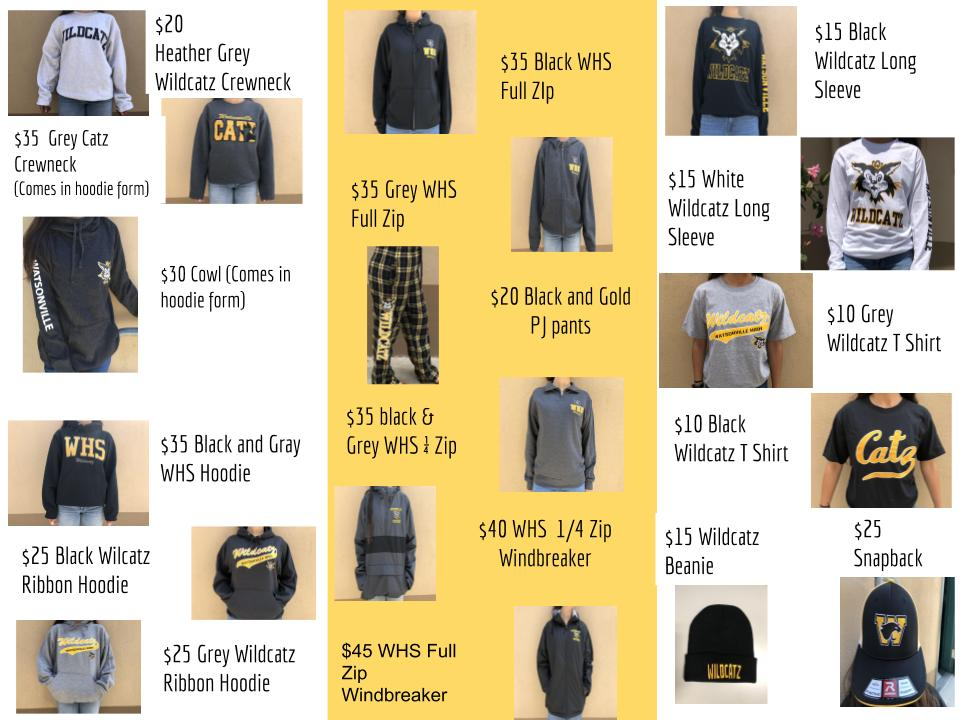 WHS Clothes for sale