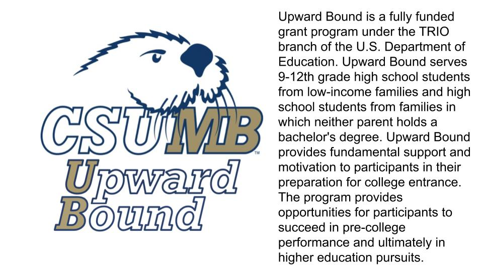 CSUMB Upward Bound Description