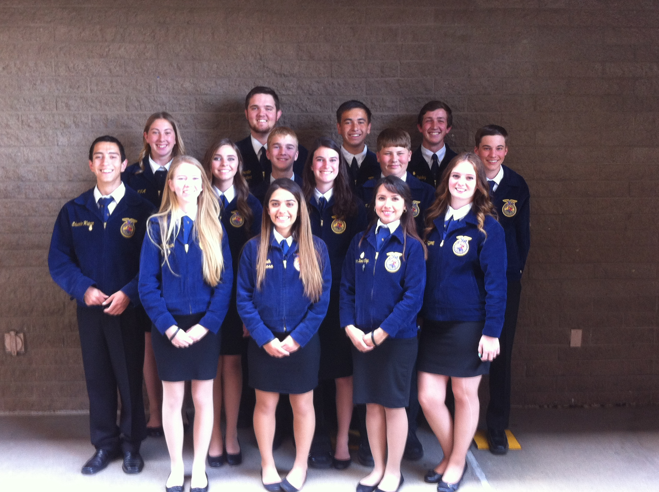 All of the Winters FFA Members that attended the 2014 State Conference
