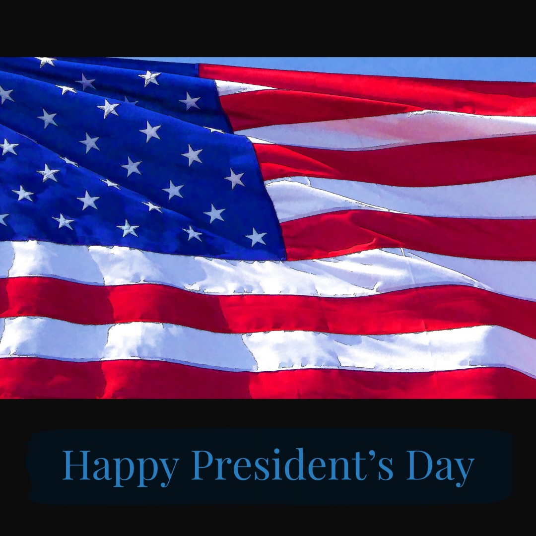 flag clipart presidents' day