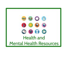 health and mental health resources