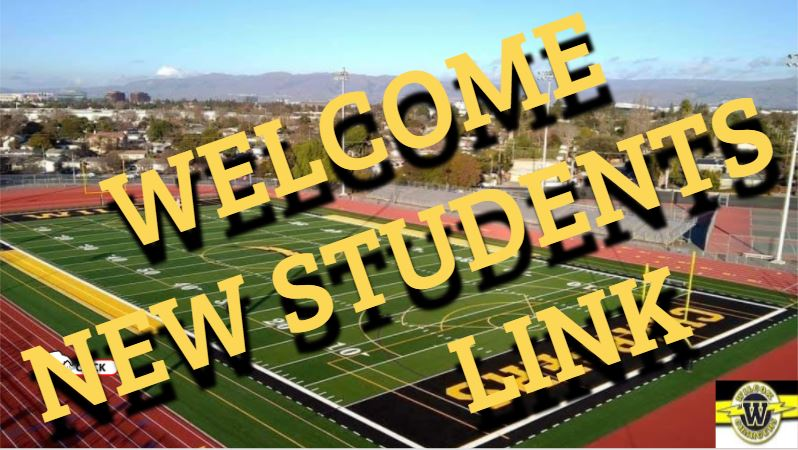 Info for New Students