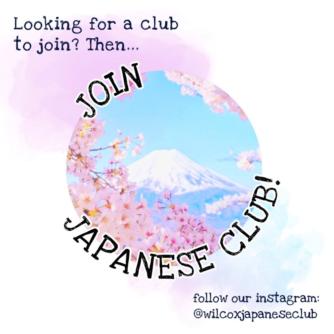 Join Japanese Club!