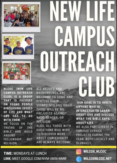 New Life Campus flyer