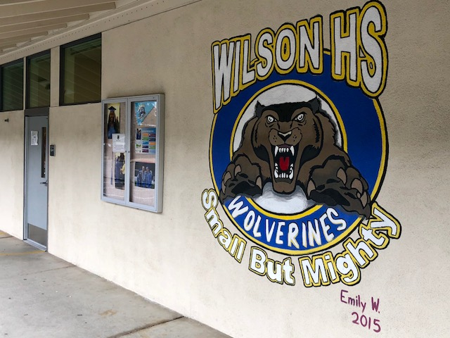 Front of Wilson High School