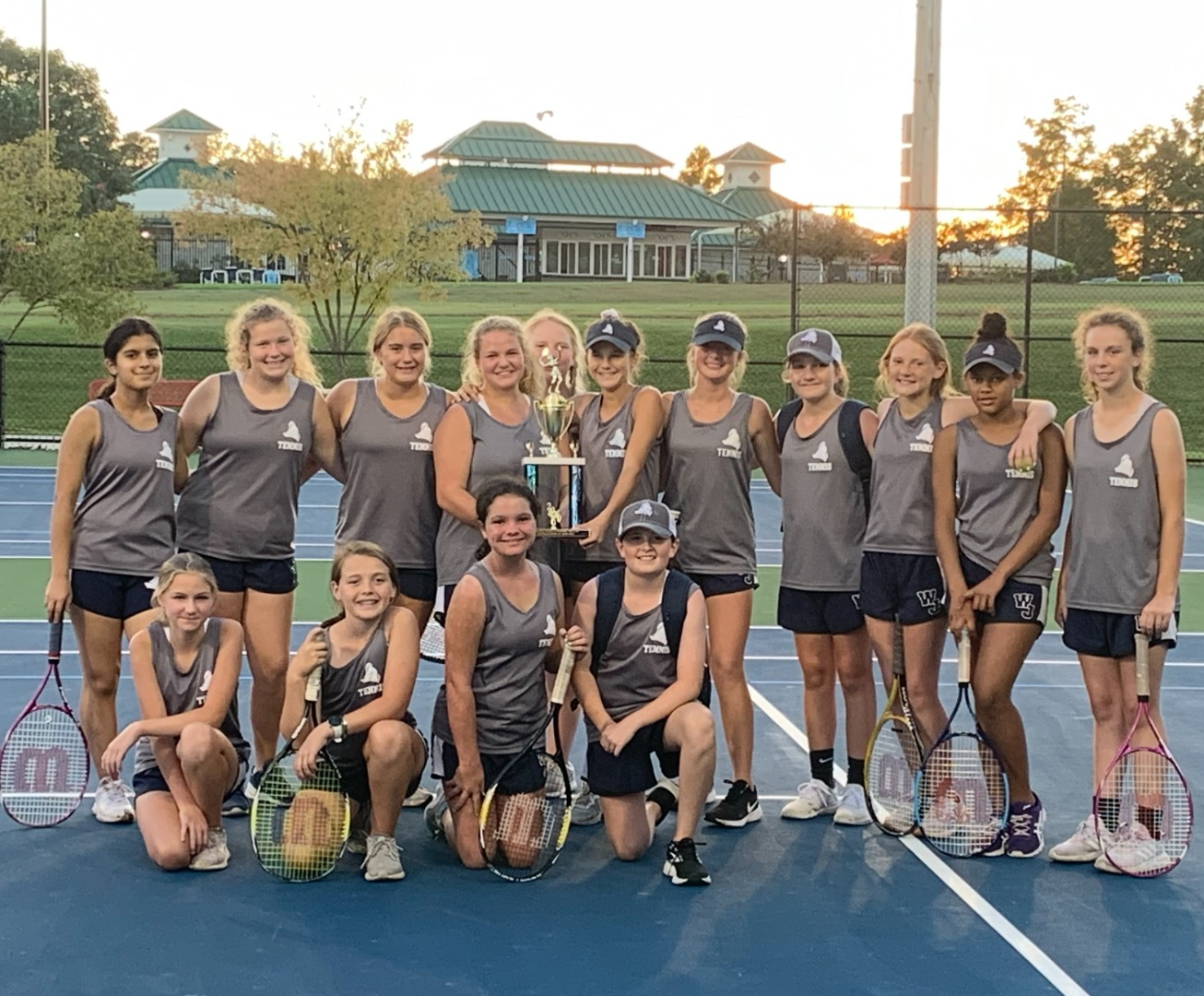 tennis region runners-up