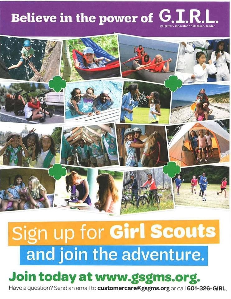 Girl Scouts Notice