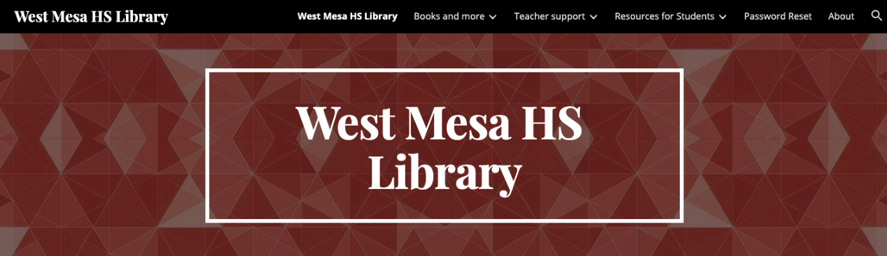 West Mesa HS Library