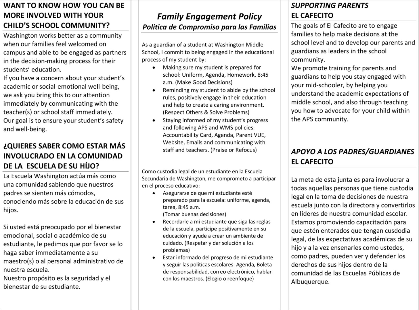 Parent Engagement Page 2