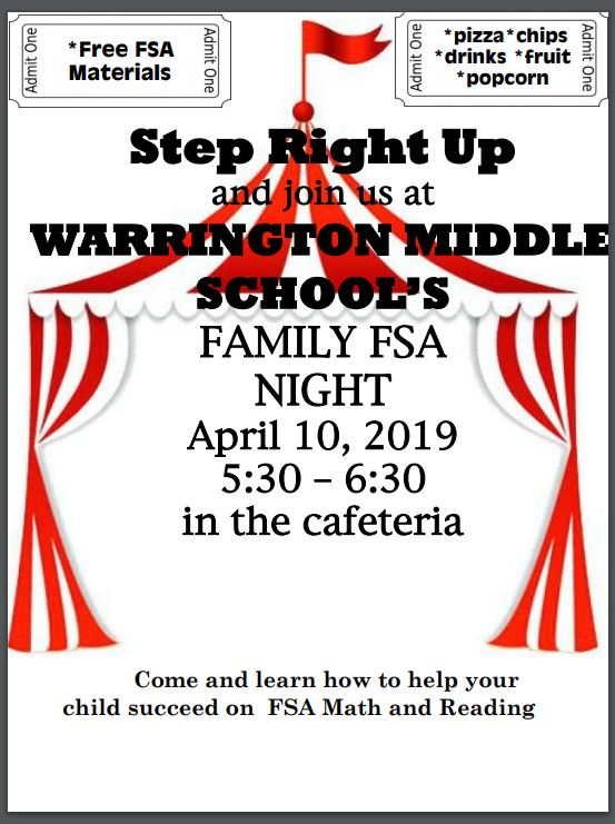 Family Night April 10th