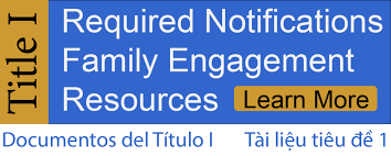Title 1 Required Notifications Family Engagement Resources
