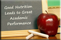 good nutrition leads to great academic performance