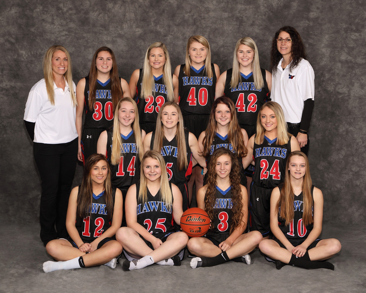 2017-2018 JV Girls Team