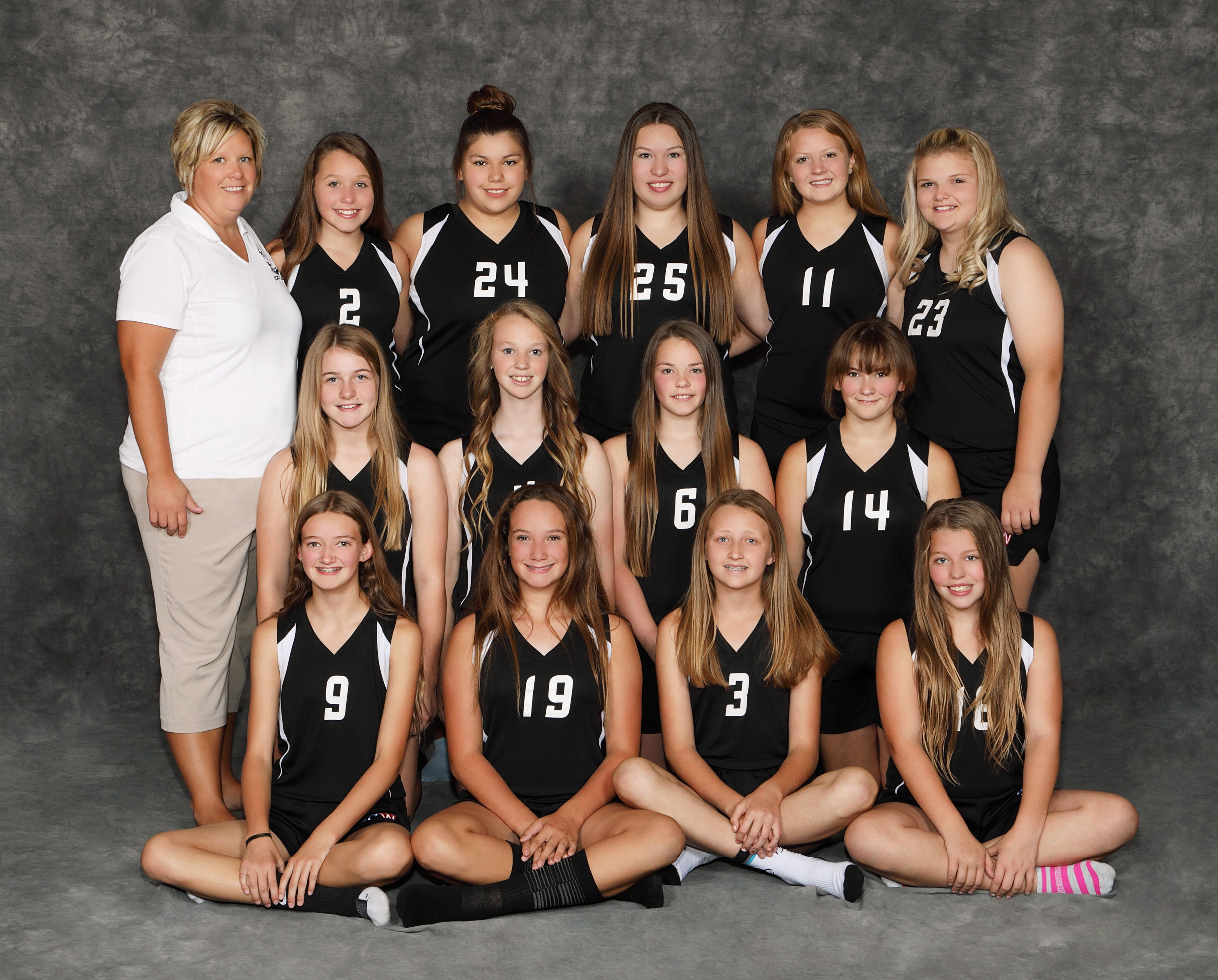 2018 JH Volleyball Team