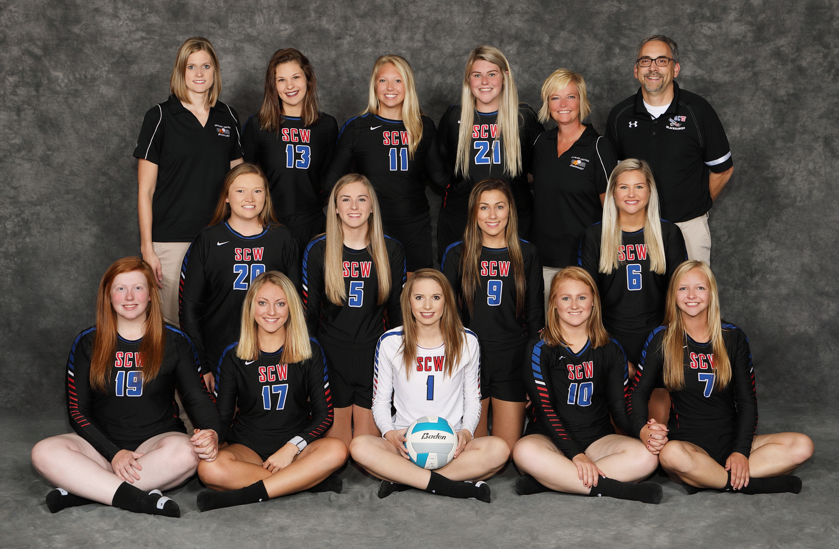 2018 Blackhawk Volleyball Team