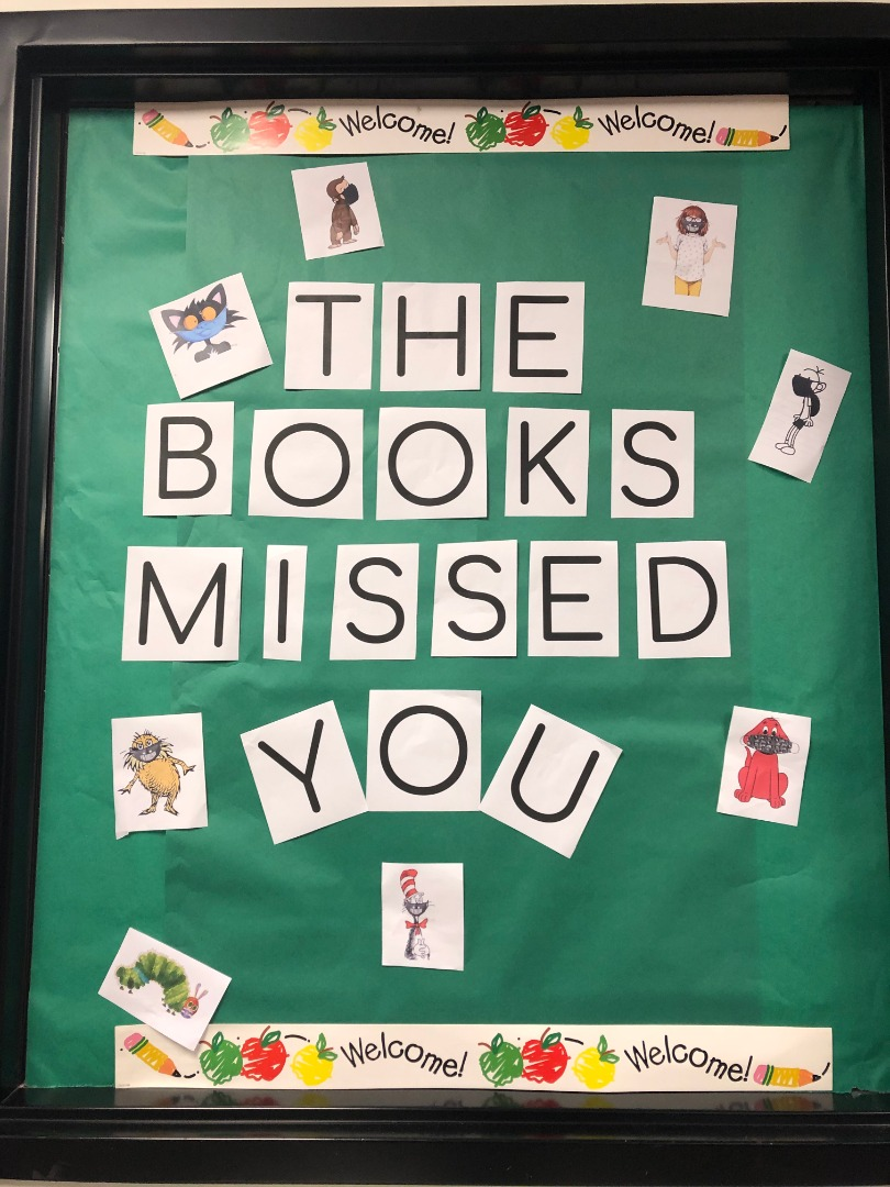 The Books that Missed You