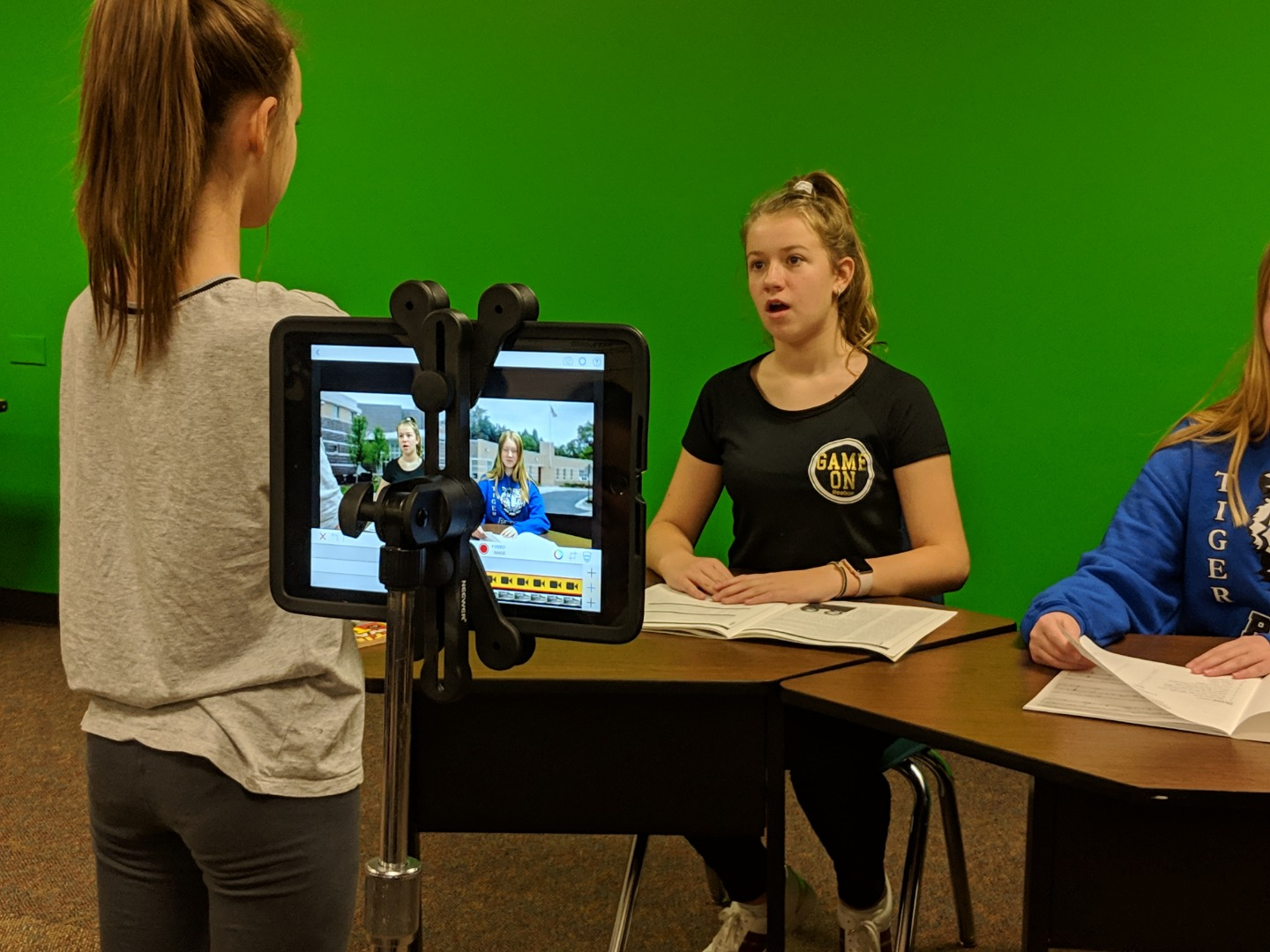 Winfield Studios Green Screen Broadcast