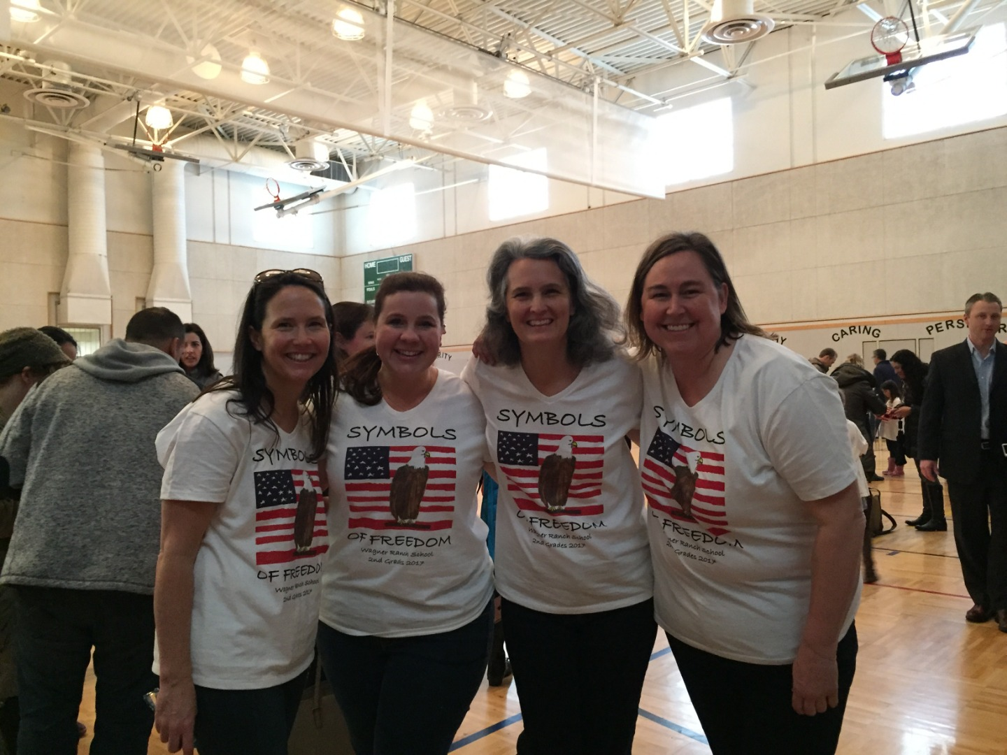 Mrs. Headley, Mrs. Doyle, Mrs. O'Neill, and Mrs. Ritzman