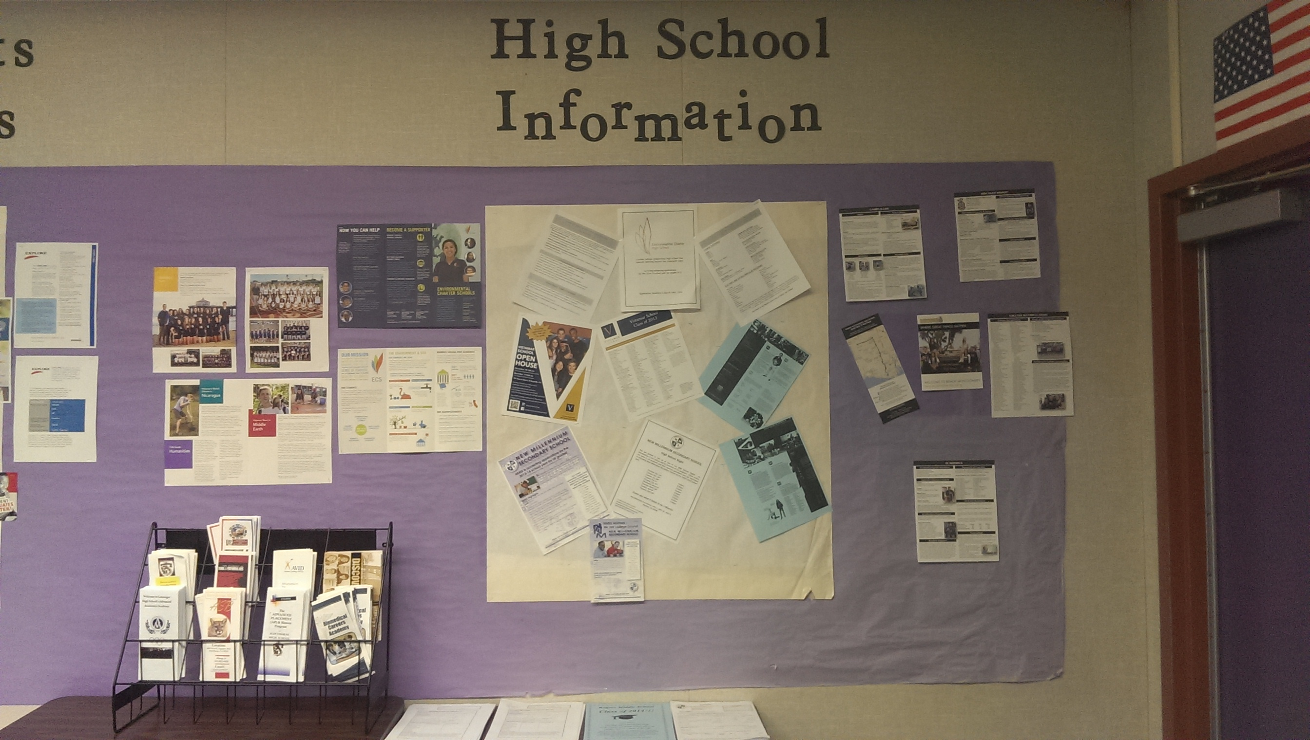 High School Bulletin Board