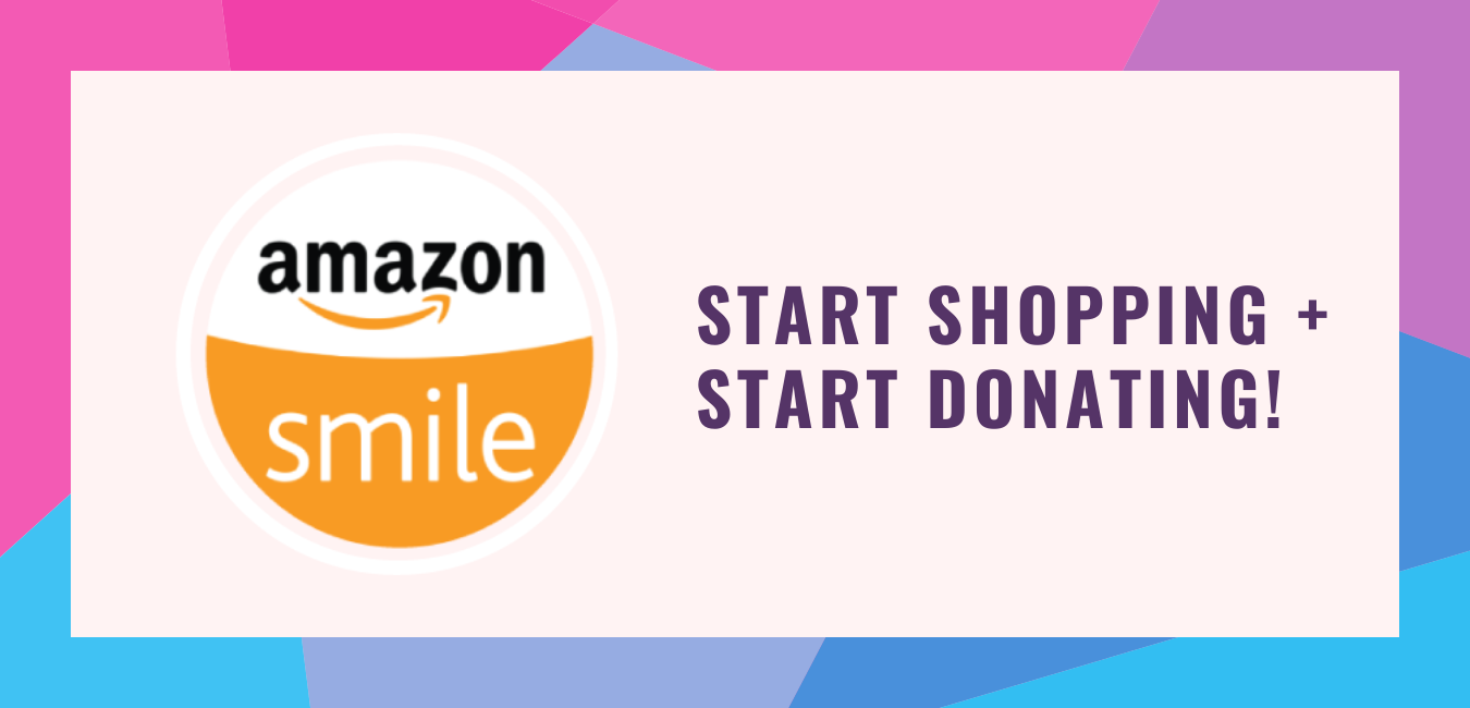 Shop and donate through amazon smile