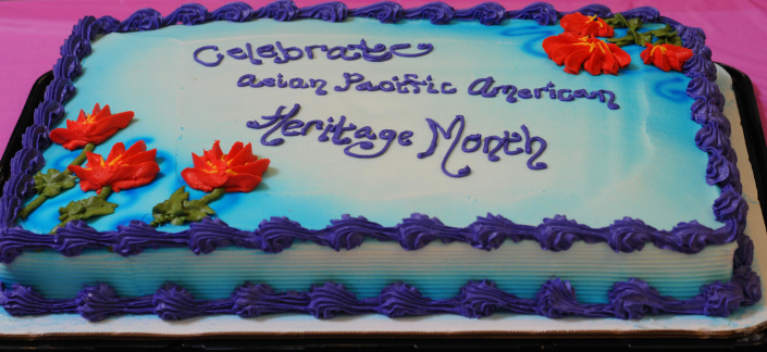 Celebrate Asian Pacific American Heritage Month - Cake