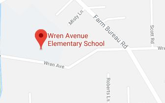 Google map of Wren Avenue Elementary