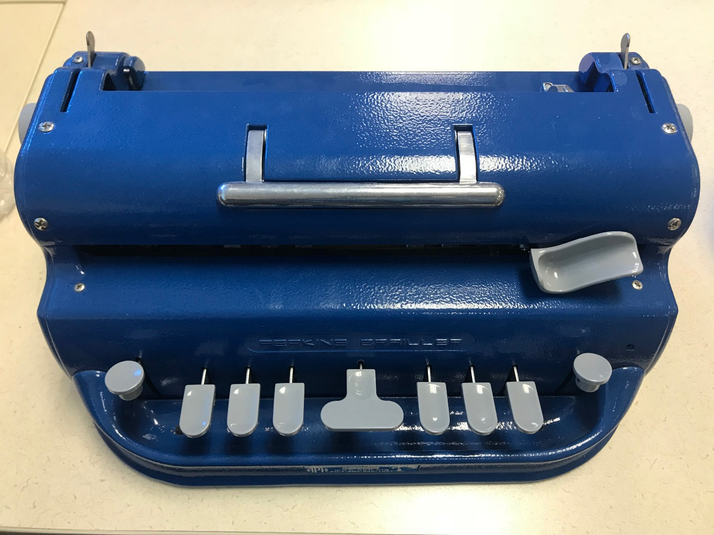 brail type writer