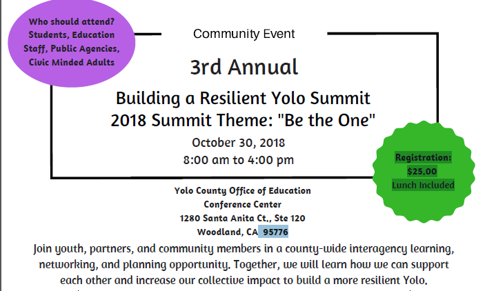 Building a Resilient Yolo Flyer date and time