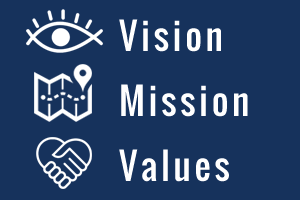 Our Vission, Mission and Values