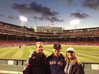 A Day at Fenway Park