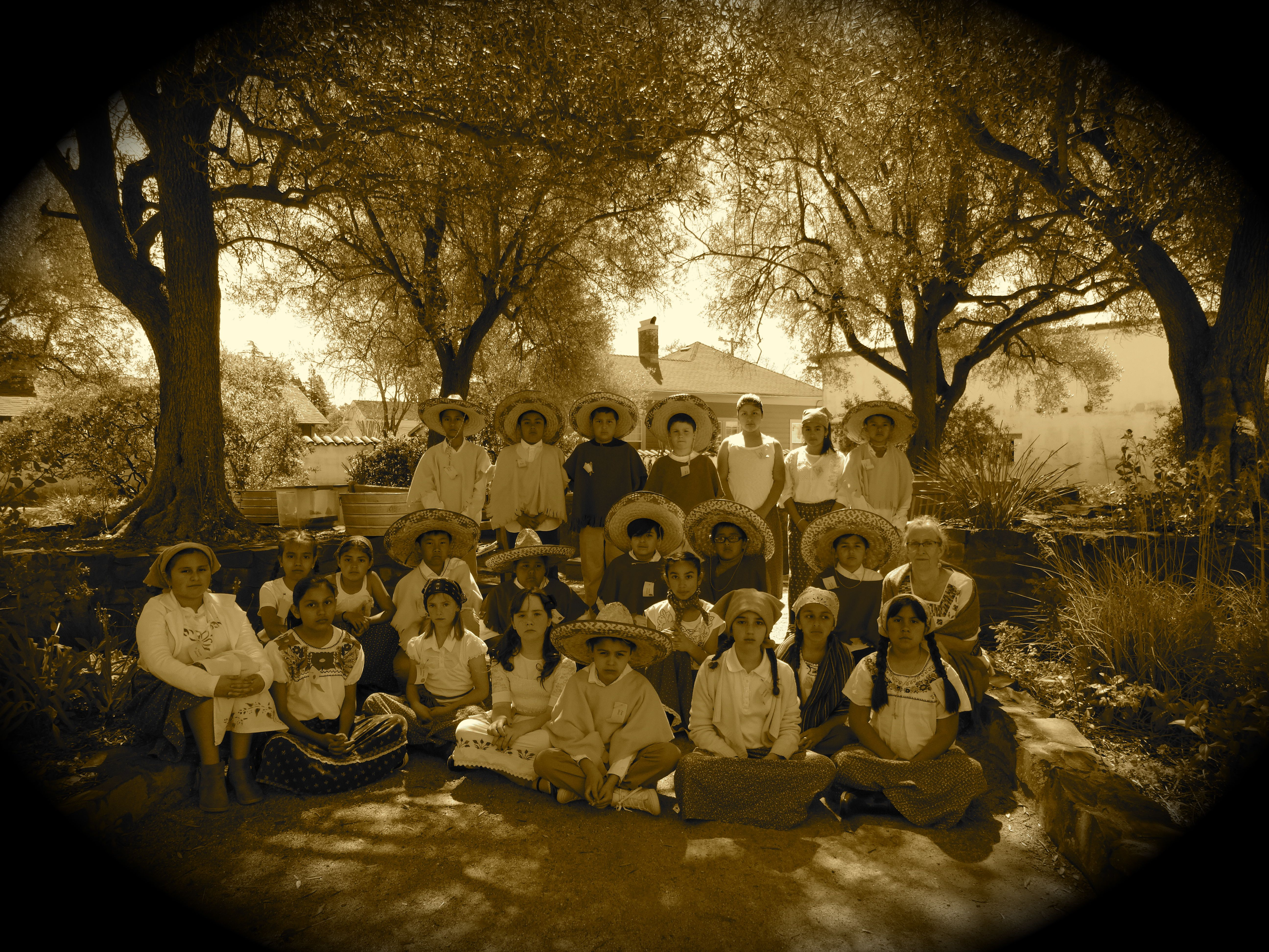 Ms. Linder's 4th Graders at Mission Solano