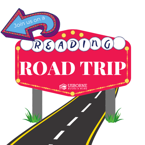 Reading Road Trip Advertisement for USBORNE