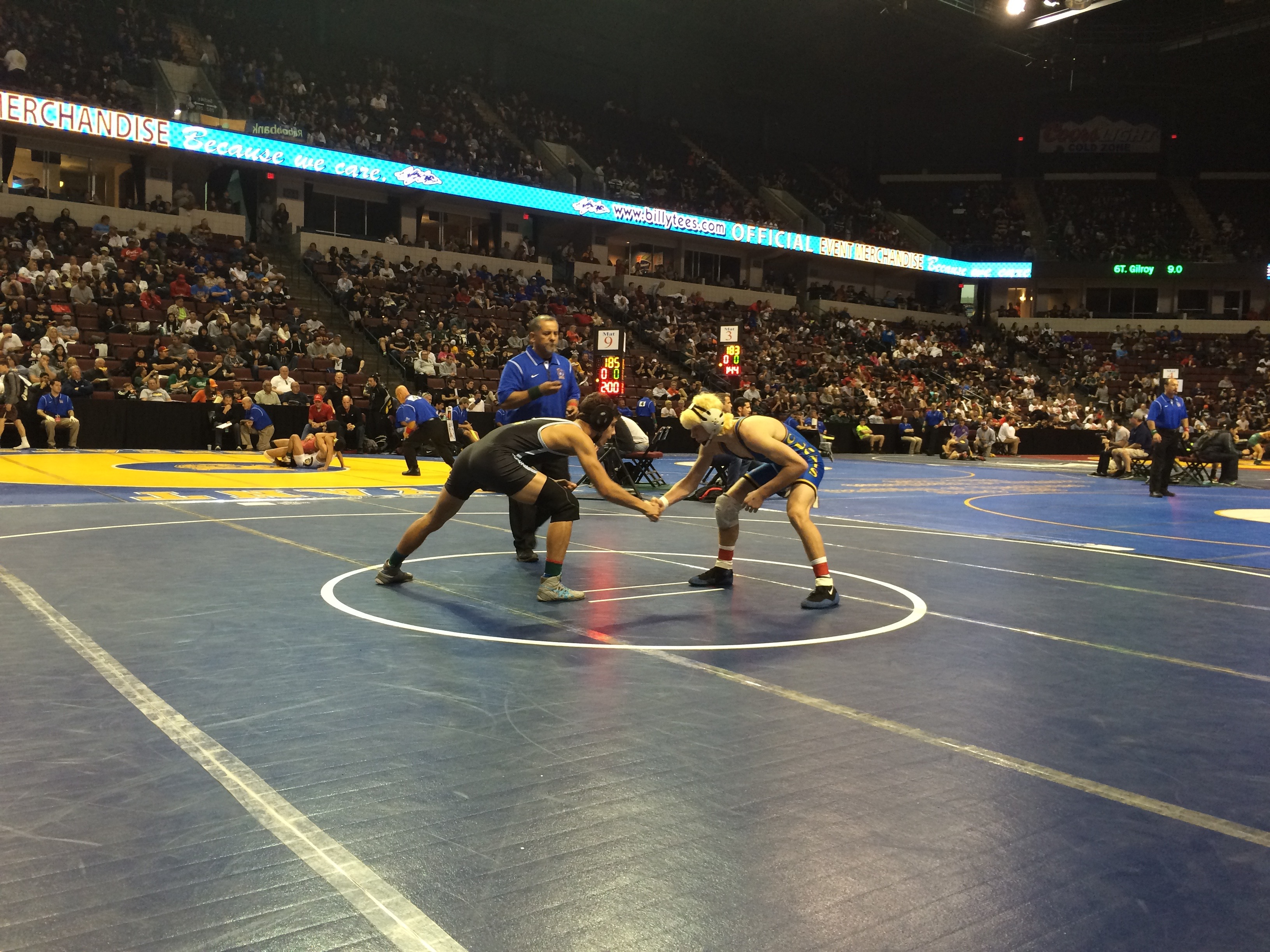 Raul Villarreal represents AEE at the CIF State championship tournament