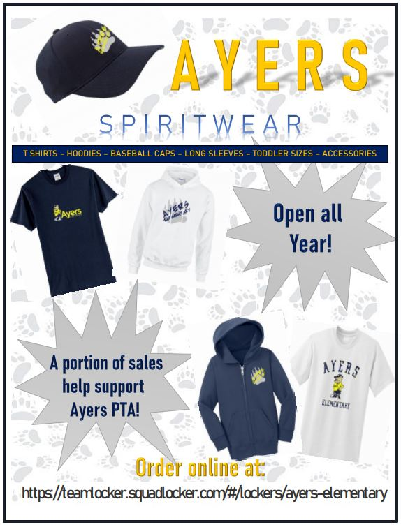 Ayers Spirit Wear