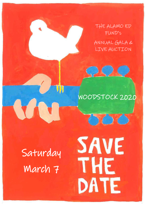 Save the Date March 7 Woodstock 2020