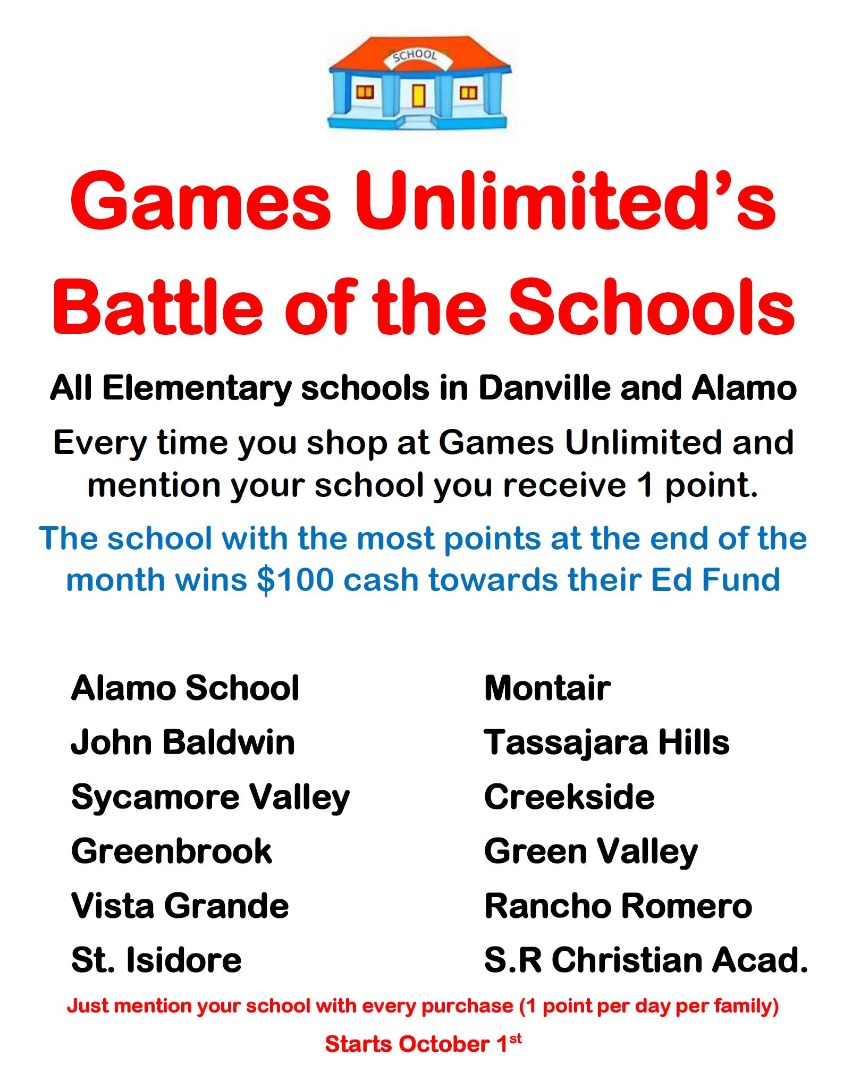 Games Unlimited Battle of the Schools