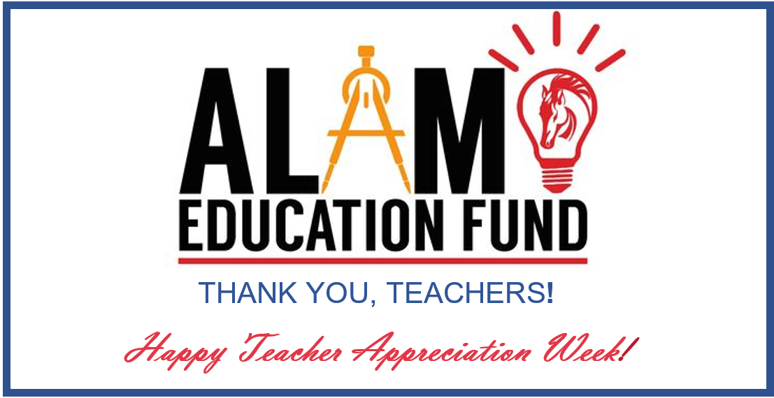 Thank you Alamo Teachers!