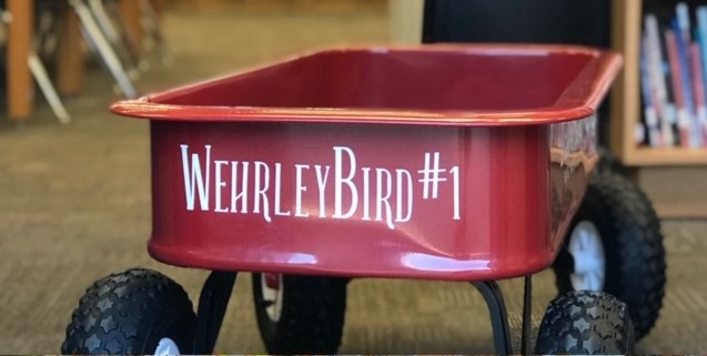 Wehrley Bird Library Cart