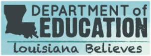 Louisiana Department of Education Banner