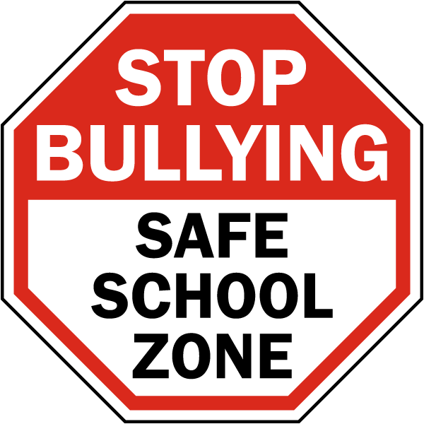 Stop Bullying Stop Sign