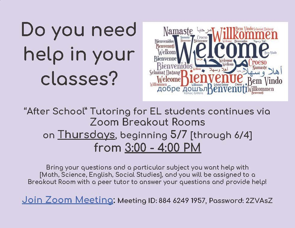 Zoom Tutoring Breakouts